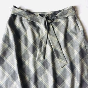 Pendleton Skirts - Pendleton Virgin Wool A-line Plaid Midi Skirt 16